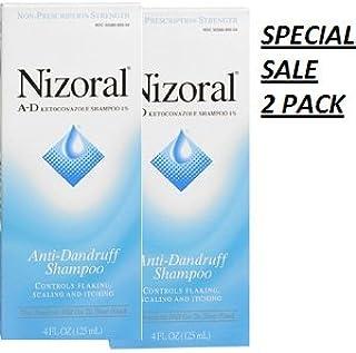 Nizoral A & D ANTI-DANDRUFF SHAMPOO 7oz (2 Packs)