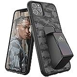 adidas Funda Deportiva Compatible con iPhone 11 Pro MAX, Soporte de Agarre, Funda Protectora para teléfono móvil, Color Camuflaje Negro