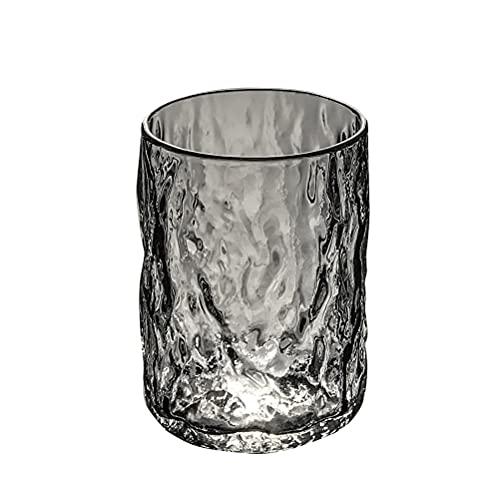 PQQ Vasos de Whisky Vasos de Licor de Brandy de Cristal Cocteles Copas de Agua Cristalería Perfecta para Regalos del día del Padre Barras de Fiesta Juego de 6