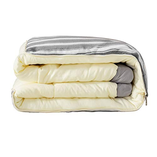 Pair of Pillows Non-Allergenic Soft Polycotton Hollowfibre Duvet Quilt With Pair of Pillows Bundle Togs By CosyWinks/® Double 13.5