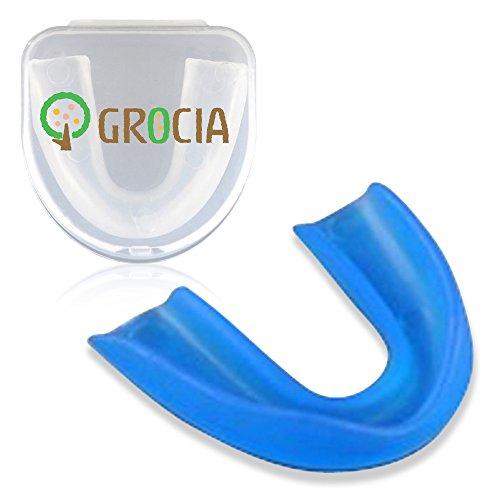 Grocia G-025 Sports Mouthpieces, For Boxing, Martial Arts, 3 Piece Value Set