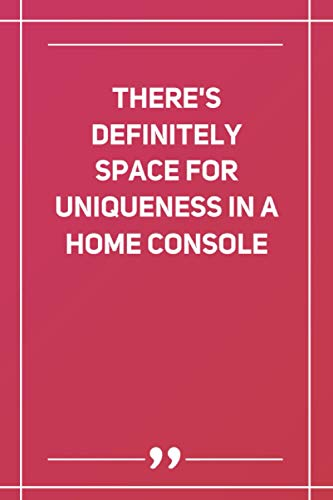 There'S Definitely Space For Uniqueness In A Home Console: Wide Ruled Lined...