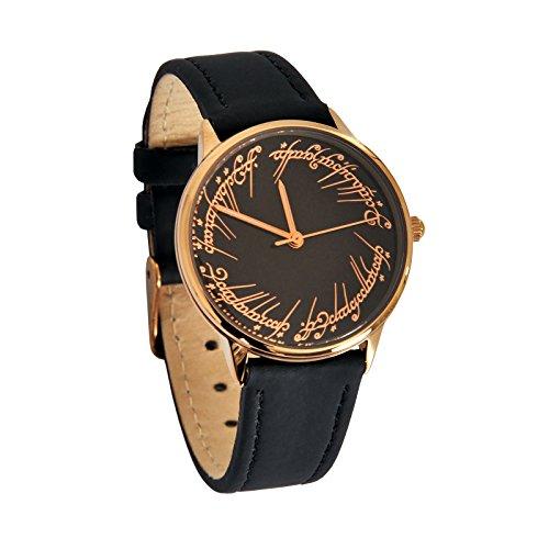 Il Signore degli Anelli - Orologio da polso da donna 'L'unico orologio' Elbenwald cinturino in pelle