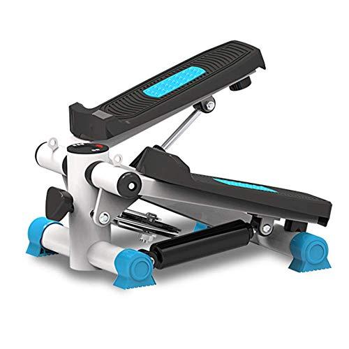 Máquina de ejercicios para caminar debajo del escritorio Entrenadores elípticos, ejercitador de pedales Máquina elíptica de pasos, bicicleta estática de ciclo silencioso con resistencia ajustable y m