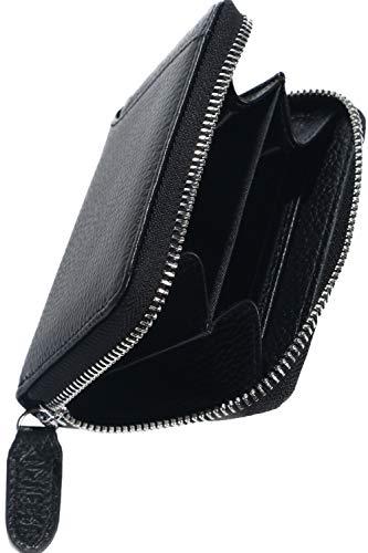 [NEESE] 小銭入れ コインケース メンズ 財布 (ブラック)