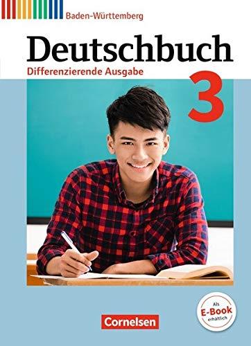 Deutschbuch - Differenzierende Ausgabe Baden-Württemberg - Bildungsplan 2016: Band 3: 7. Schuljahr - Schülerbuch