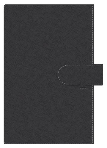 Pierre Belvedere Executive A5 Notebook, Refillable, Black (177210)