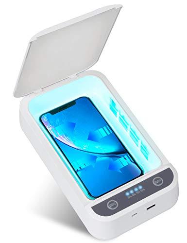 IFLOVE Handy Sterilisator UV Box Desinfektion Geräte Tragbare Telefon Cleaner Aromatherapie Funktion Desinfektor für Smartphone