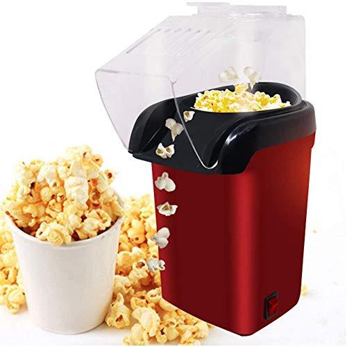 Best Deals! Sq Air Popcorn Maker, 1200 W, Electric Popcorn Machine, with Measuring Cups, Calorie, He...