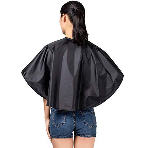 RXL Doux Tissu de Coiffure Salon Augmenter Châle Hair Salon Perm Dyeing épaule Cheveux Shampooing Cheveux Tissu Coupe Dyeing Foulard imperméable Lisse