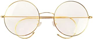Retro Round Optical Rare Wire Rim Eyeglass Frame
