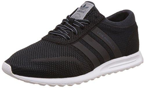 adidas Los Angeles Scarpe Low-Top, Bambine, Nero (Core Black/Core Black/Ftwr White), 36 2/3 EU (4 Child UK)