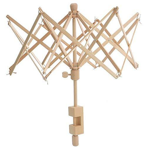 Falaiws Holz-Schirmstütze, Garn, Wickelmaschine, Handschirm-Bandage, Strickwerkzeug