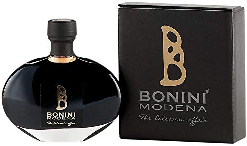 BONINI Producer of Traditional Balsamic Vinegar of Modena PDO, Riserva Dressing 1.35 oz handcrafted from cooked grape must, aged in 50 year old barrels, Made in Italy