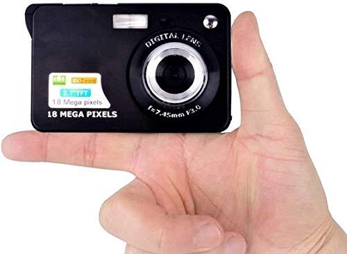 Digitalkamera Kindertauglich Kamera Kompaktkamera HD 2,7 Zoll 18.0 Megapixel Mini Videokamera