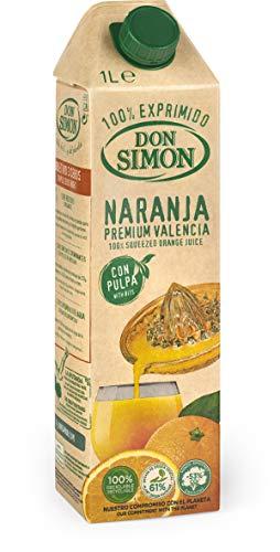 Don Simón Zumo Naranja Exprimida con Pulpa, 1L