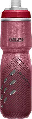 CAMELBAK Unisex-Adult Podium Chill 24oz Bottle, Burgundy Perforated.71L / 24 Oz
