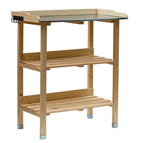 RM Design Table de plantation en bois...