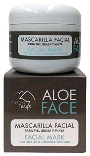 Thermal Teide 160400 - Gesichtsmaske für fettige und Mischhaut mit Seesternextrakt und Thermalwasser
