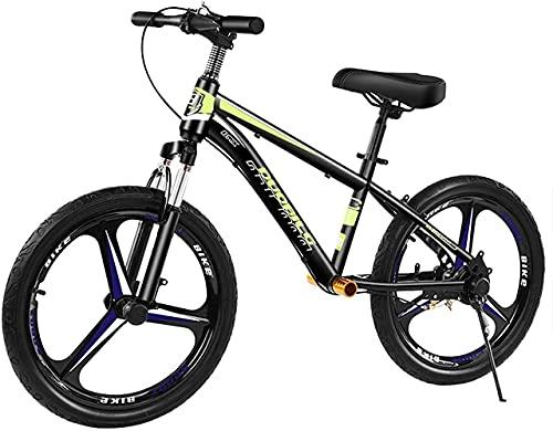 MLL Bicicleta de Equilibrio, Bicicleta de Equilibrio de Freno para niños Grandes Altura: 135165 cm, Rueda de 16 Pulgadas, Asiento y Manillar Ajustables sin Pedal, Regalo