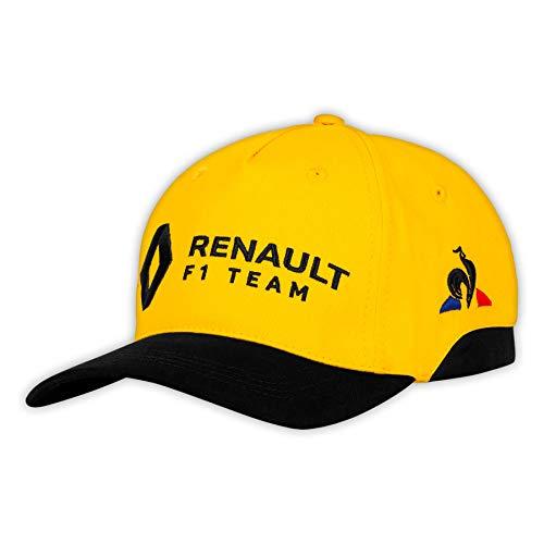 le coq Sportif Unisex-Erwachsene Renault Cap Amber Yellow/Black Kappe, Einheitsgröße