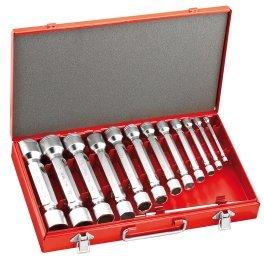 USAG U02900185 - Juego de 12 llaves de tubo de 2 bocas