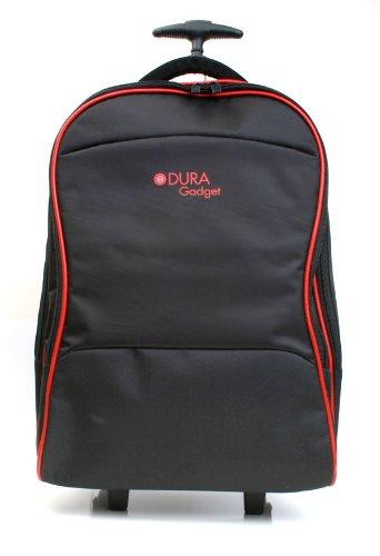 DURAGADGET Maleta de Ruedas para Viajar Compatible con Portátil LG gram 17 (17Z90N) 2020, Medidas de Equipaje de Mano.