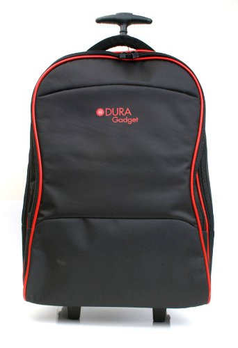 DURAGADGET Maleta de Ruedas para Viajar para Portátil ASUS Chromebook Flip C302CA, Pro B9440, ZenBook Flip UX360UA, Medidas de Equipaje de Mano.