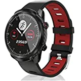 Bysion Smart watch, waterproof blood pressure heart rate sleep monitor pedometer, sports smart watch, for men and women