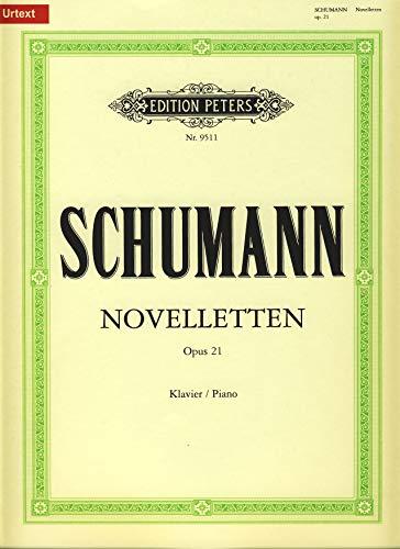 Noten Classic Edition Peters Schumann Robert – Novellet OP.21 – Piano