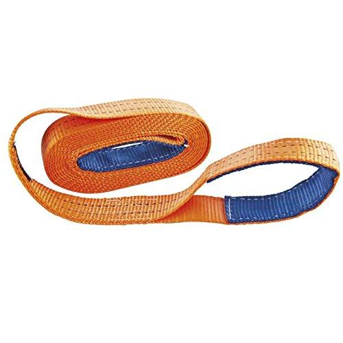 CORDERIES TOURNONAISES 03036 - Sangle de Traction - 6 T - Longueur 5 m - Spécial 4 x 4 - Orange
