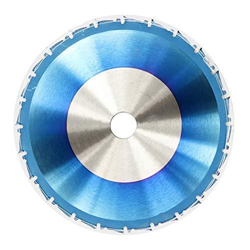Yongenee Duradero 1pc 210mm 24T Sierra de widia Recubrimiento Azul de la Madera Circular VIO la lámina Discos de Corte de carburo de Hoja de Sierra Herramientas industriales