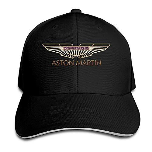 Aston Martin Logo Adjustable Sandwich Peaked Baseball Caps/Hats Adjustable For Unisex,Sombreros y Gorras