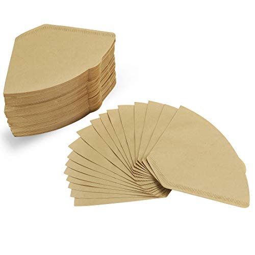 #4 Cone Coffee Filters (Natural Unbleached, 100)
