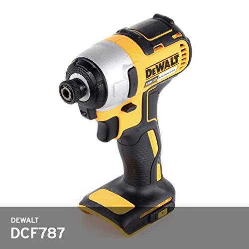 """De-Walt DCF787 20V 20 Volt MAX Li-Ion 1/4"""" Hex Brushless Impact Drill Driver"""