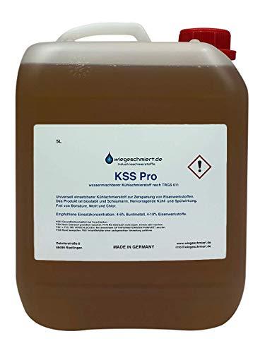KNAUS Kühlschmierstoff Pro zum Fräsen, Drehen, Bohren und Sägen | Frei von Borsäure, Nitrit und Chlor