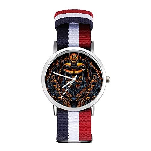 Lord Rings Hobbit reloj de ocio para adultos, moderno, hermoso y personalizado aleación Shell casual reloj deportivo para hombres y mujeres