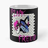 Pink Freud – Tazza da caffè in ceramica bianca 11 Oz 15 Oz Que Je Personalise!