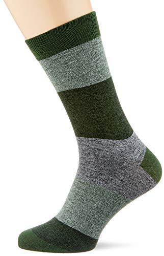 JACK und JONES Herren JACTWISTED Block NOOS Socken, Dark Grey Melange, ONE Size