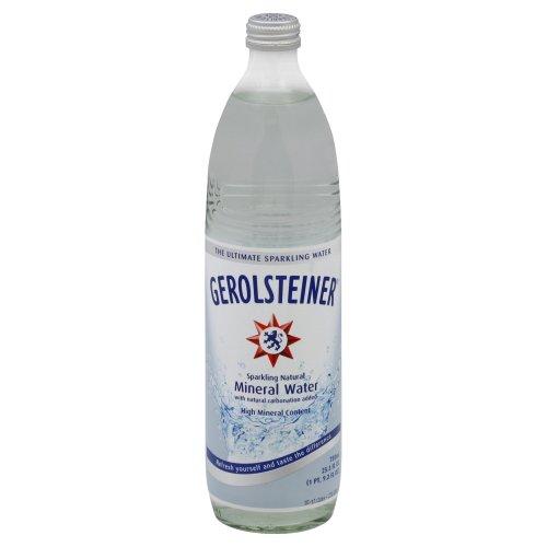 Gerolsteiner Sparkling Mineral Water, 25.3-oz. (Count of 15)