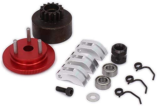 store Tamkyo Clutch Bell Shoes Bearing Flywheel Kit Assembly safety Gear 14T