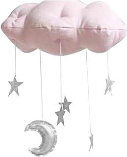 Pendentif nuage, jouet à suspendre au plafond de bébé, accessoire de photographie de bébé, étoiles à suspendre, décoration...