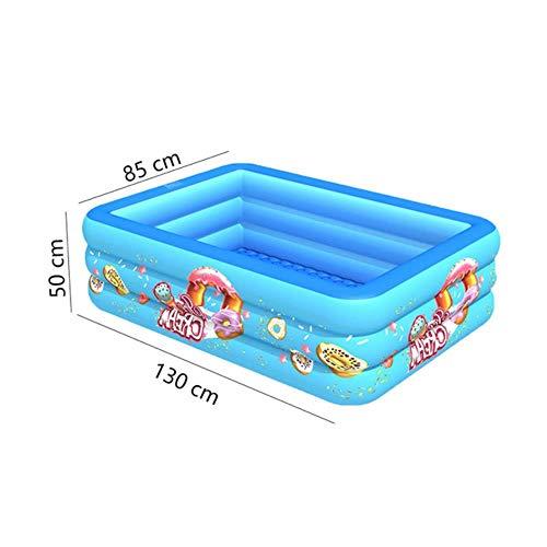 CICI 120/130/150/180 / 210cm Kinder Home Use Planschbecken Großer aufblasbarer Platz Pool Kinder aufblasbarer Pool für 1-5 Personen,130cm