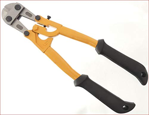 "Tech 14"" Bolt Cutter, Compound Action, Wire, Cable, Chain, Comfortable Grips, Snips, Hand Tools"