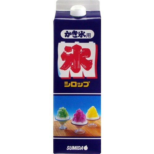 スミダ飲料 かき氷 ブルーハワイ 1L [3037]