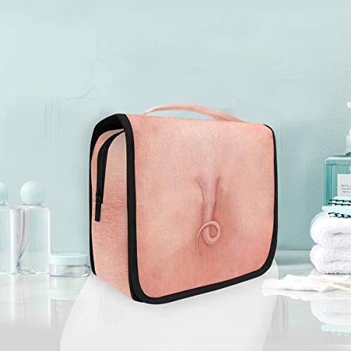 Maquillage Cosmétique Sac Portable Animal Pig Tail Voyage De Stockage Pouch Trousse De Toilette pour Femmes dame