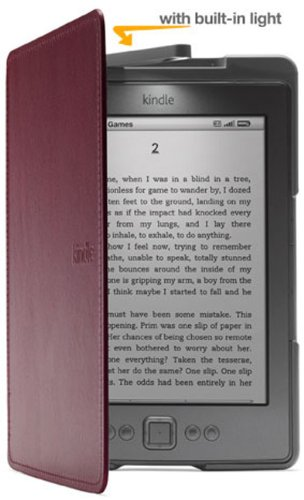 Amazon Kindle Lighted Leather Cover, Black (for Kindle 5th Generation, 2012 model - does not fit current Kindle, Paperwhite, Touch, or Keyboard)