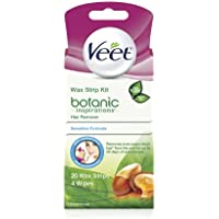 20-Count Veet Body and Face Hair Remover Wax Kit