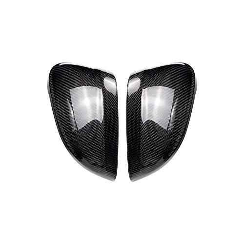 ZST-DM Cubiertas De Espejo, para Audi A4 B9 2016 + A5 B9 2017+ Tapas De ala Laterales De Carbono Ajuste De Decoración De Repuesto