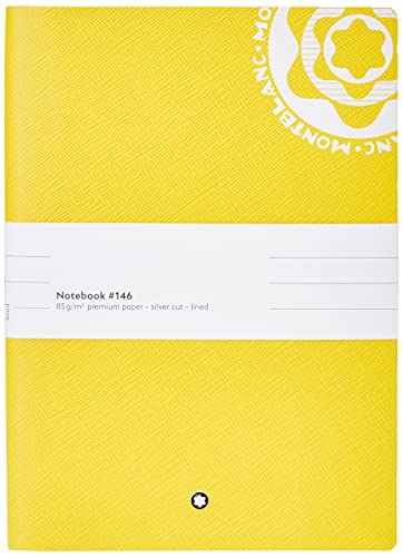 Montblanc - Notebook #146 vintage logo yellow